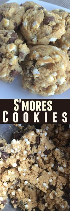 S'mores Cookies - To