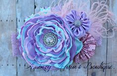 Singed Flower Singed Flower Headband by AubreyAnnasBoutique, $20.00