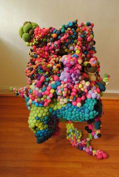 Textile installation work from Serena Garcia Dalla... | Exhibition-ism