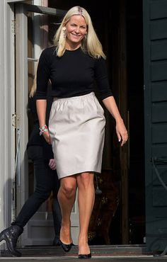 "27th April 2012: Bold welcomes Princess Mette-Marit , the ""Global Shapers"" Asker in Norway."