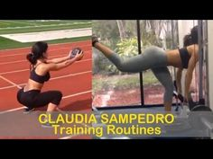 #2 CLAUDIA SAMPEDRO - Fitness Model: Exercises and training routines @ Cuba - YouTube