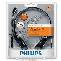 Philips Pc HeadSet Casque Pour Pc SHM3560  New
