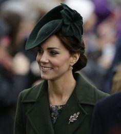Lució una creación de John Boyd, el sombrerero de la 'Princesa del pueblo', en el día de la Commonwealth
