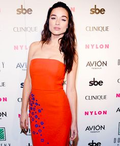 Crystal Reed - NYLON Nights Los Angeles, In Celebration Of The October It Girl Issue Hosted By Cover Star Tinashe, At Doheny Room on October 13, 2016