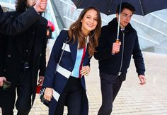 Alicia Vikander -- street style during Paris Fashion Week 2016 -- photograph by Phil Oh