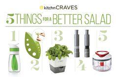 5 Gadgets for a Better Salad — Kitchn Craves | Kitchn