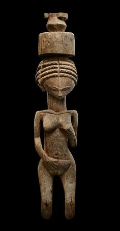 Africa | Figure from the Sakalava people of Madagascar | Wood