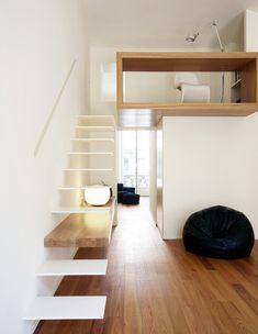 קופסה לבנה, מדרגות גובה