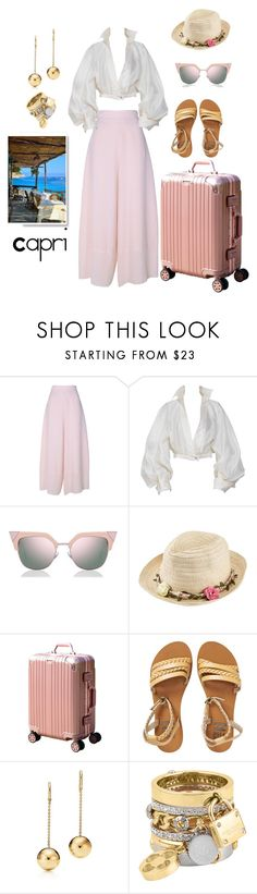 """""""Capri"""" by jessica-marks ❤ liked on Polyvore featuring See by Chloé, Claude Montana, Fendi, Joe Browns, Billabong and Henri Bendel"""