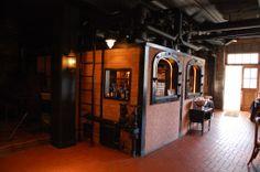 Bar area in the Raisin River Room in Saline, MI