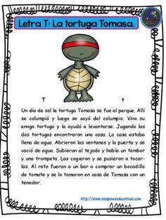 Cuentos para niños y niñas con las letras el abecedario (14) - Imagenes Educativas