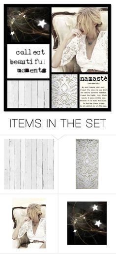 """""""Collect Beautiful Moments"""" by pippyshouse ❤ liked on Polyvore featuring art, quotes, Collage, namaste and artset"""
