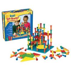 Lauri - Tall-Stacker - Pegs Building Set
