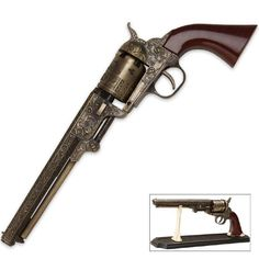 Replica: Highly Detailed 1851 Style Revolver (All Metal)