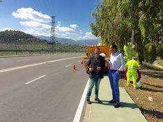 Concluyen los trabajos para mejorar la seguridad vial en la Variante Sur de la capital