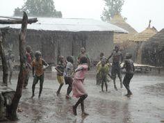 first rain in six months, Senegal