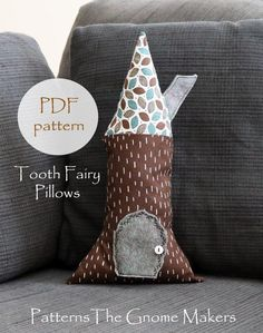 Tooth Fairy Pillow Pattern Waldorf Dolls Pillow Pattern DIY | Etsy