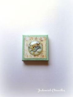 """Mini toile décorative série """" Il était une fois : les fées """" n°7 : Accessoires de maison par jademiel-etincelles"""