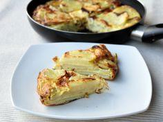 Tortilla di patate senza glutine