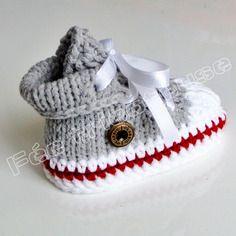 Tricoter des chaussons pour bébé Le tricot facile  Apprendre à tricoter fc375dca47b6a