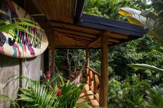 Santa Teresa House, Costa Rica, Ecologically built with local wood and natural material, this Costa Rican property offers everything the heart desires - peace, nature and within walking distance to the beach – paradise!