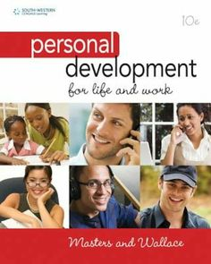 Test bank for Personal Development for Life and Work Edition by Ann Masters Personal Development Books, Self Development, Thinking Skills, Critical Thinking, Communication Book, Books For Self Improvement, Happy Today, Self Motivation, Paperback Books