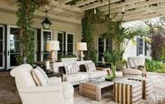 Nice outdoor living space