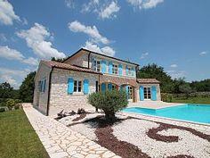 Neue Villa mit Pool oberhalb Porec und Rovinj