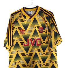 1991-93 Arsenal away shirt L Link in bio (search: arsenal) #arsenal #arsenalfc #afc #uta #adidas #adidasfootball #footballshirtcollective