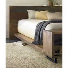 Atwood bed frame- Crate and Barrel