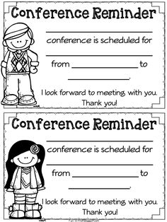 Fun in First Grade: Parent Teacher Conference Time and Must Have FREEBIES