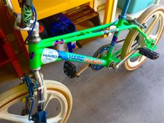 1985 Haro Master Acid Green Freestyler BMX Collectors Bicycle Bike | eBay