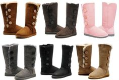 UGG Bailey Button Boots UGG Classic Boots UGG Fox Fur Boots UGG Boots 59.00 USD