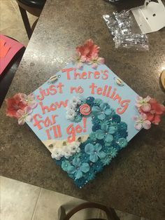 My Moana themed graduation cap! #diy #gradcap #disney #graduationcap