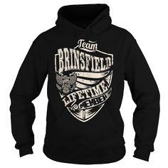 Last Name, Surname Tshirts - Team BRINSFIELD Lifetime Member Eagle