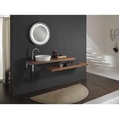 Nice 7 Wonderful Modern Bathroom Sink Ideas That Look More Cool The bathroom sink ideas become one of the complementary bathrooms to make it feel more comfortable. Because the sink will always be needed when you fi. Dark Wood Bathroom, Modern Bathroom Sink, Tiny Bathrooms, Vessel Sink Bathroom, Bathroom Ideas, Master Bathrooms, Bathroom Renovations, Corner Bathroom Vanity, Bathroom Vanities