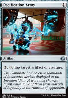 Aether Revolt: Pacification Array