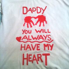A Valentine Shirt for Daddy