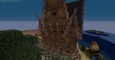 "Medieval-like. My ""small"" house in Survival. Spigot. karanteeni.net9.fi #Karanteeni"