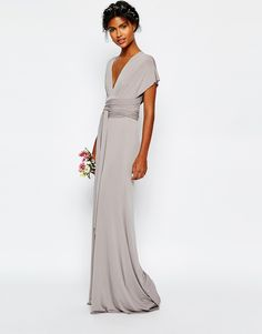 Image 4 ofTFNC WEDDING Multiway Fishtail Maxi Dress