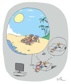 Pensando en las vacaciones lol #risas #humor Life Goals, Memes, Funny, Have Fun, Lol, Family Guy, Fictional Characters, Smile, Thoughts