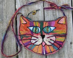 Kitty Purse Pink! by Laurie LS Wright