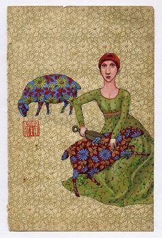 Lena Revenko    She has lots of great work.