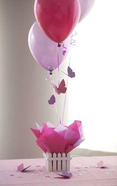 balões e borboletas...