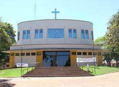 Igreja Matriz Nossa Senhora de Lourdes, de Paranacity - Paraná