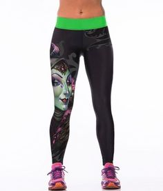 3698dd88c7847 Aliexpress.com : Buy 2015 new listing vintage Sexy slim 3D digital Printed  Women Stretchy Leggings Gymnasium Leggins Elastic High Waist Black Pants  from ...