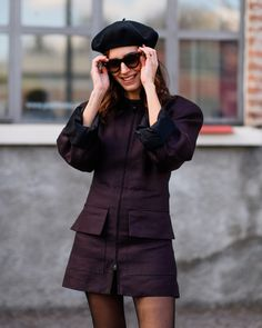 The Best Street Style From Milan Fashion Week Milan Fashion Week Street Style, Milan Fashion Weeks, Autumn Street Style, Cool Street Fashion, All Fashion, Womens Fashion, Fashion Styles, Gala Gonzalez, London Instagram