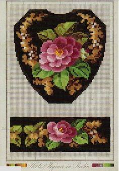 Berlin WoolWork Pattern Produced By Hertz & Wegener