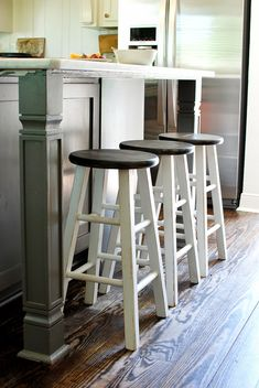 Captivating Cheap To Chic Bar Stool Makeover With My NEW Spray Tent Design