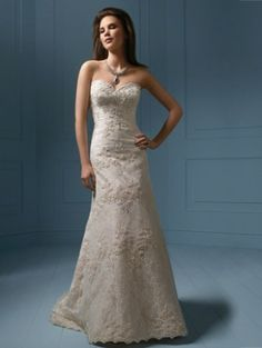 Style 801 alfred angelo wedding dress